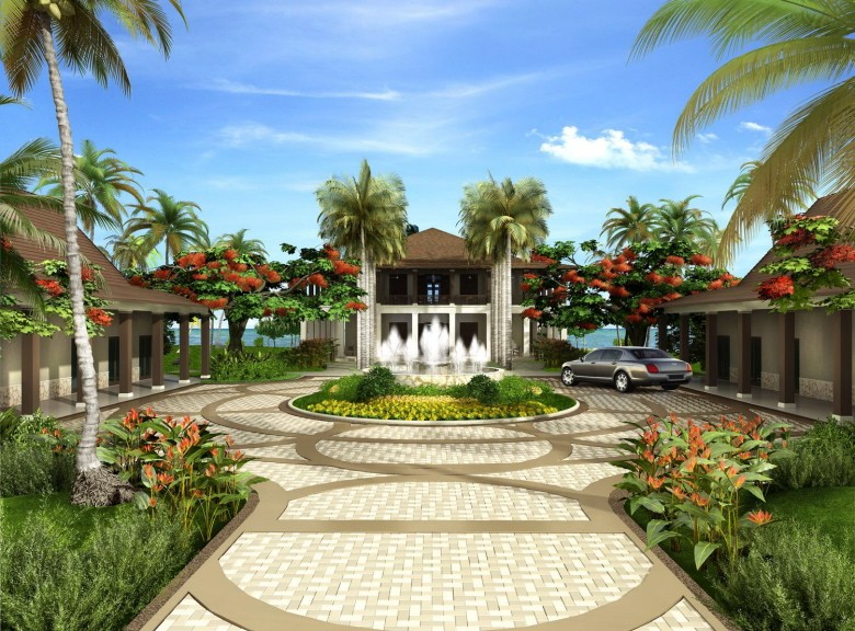 Rendering of the Resort